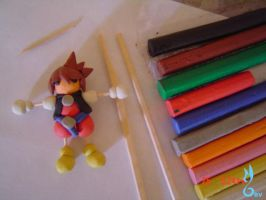 playing with clay by BlueValkyrie