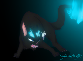 Blue Exorcist Cats: Rin by nightwindwolf95