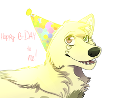 Happy B-day To Me! by Soft-Ears