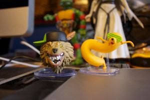 Adventure Time Figures by OwenneiL