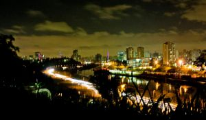 Night in Sao Paulo II by IGORLUKAS
