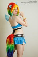 Rainbow Dash I by YurikoCosplay