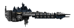 Battle Barge Great Blue by M00nprophet