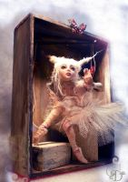 ballerina BJD box by cdlitestudio