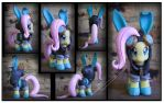 Contest Giveaway: Danger Suit Fluttershy Custom by Nazegoreng