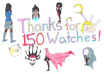 Thanks for 150 Watches! by MarylandLovely