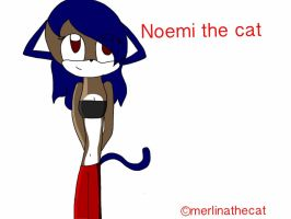 Fanart Noemi the cat by Merlinathecat