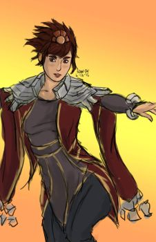 6-16-2016 League of Legends : Taliyah by Goldencard