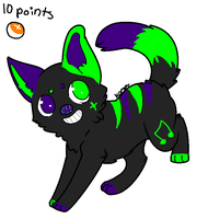 Puppy Dog adopt -CLOSED- by FlameAdopts