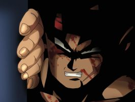 Bardock in Shadow by Gothax