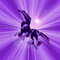 Po in purple Background by HyvePL