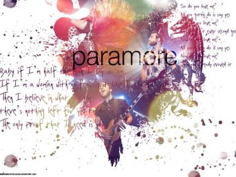 Paramore Wallpaper I by Roohdarkmetalsuicide