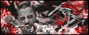 CM Punk Signature by fueledbychemicals