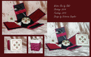 Winter Box- Sewing box and Accessories by ShadowWingLG