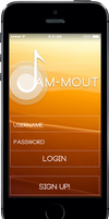 Jam-mout Login Preview by ndenlinger