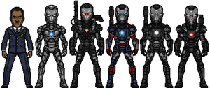 War Machine (Marvel Earth-61619) by LoganWaynee