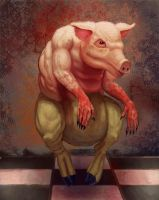 the pig by Sotherby