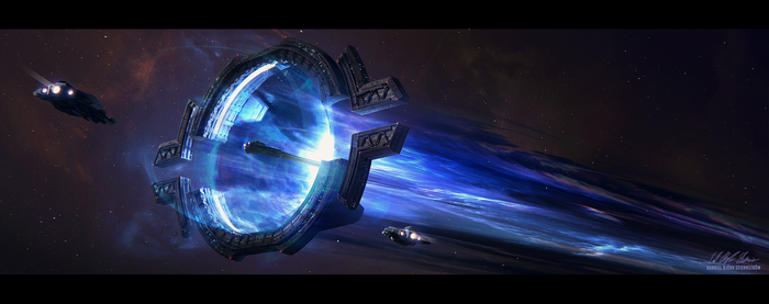 Hades' Star - Warp Lane Hub by Gabriel-BS