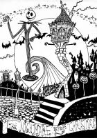 Jack and Halloween town by tibots