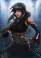 Order of Whispers Thief (Guild Wars 2) by DigiFlohw