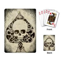 Ace Death card playning cards by ShayneOtheDead
