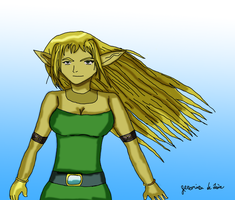 Elven Female by fighterxaos