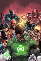 Green Lantern 62 by panelgutter