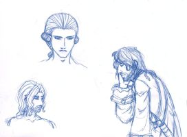 Norrington Sketches by ceres-de-rehka