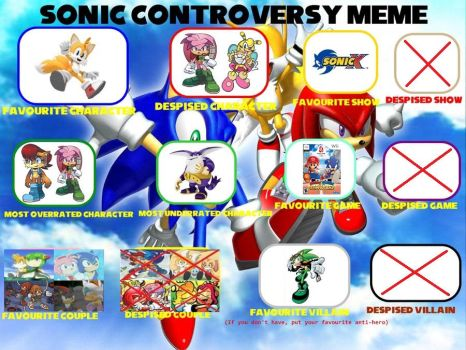 Sonic Controversy Meme by ameth18