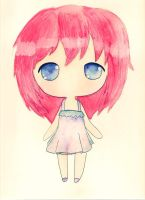 Red-Haired Chibi by himekaiu