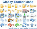 Glossy Toolbar Icons by yourmailkept