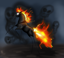 Ghost Rider by EdithSparrow