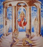 The cult of Aphrodite by CORinAZONe