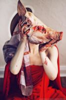 Saint pig by blooding