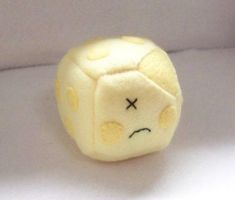 Cheese Cube Plushie by Cube-lees
