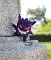 Evil Grin Gengar by Leo-tux