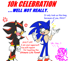 10k Celebration...Sorta by SonicRocksMySocks