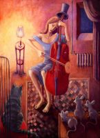 Mr Cello by razislav