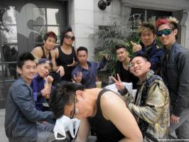 Quest Crew and Poreotics by Lovelyenie