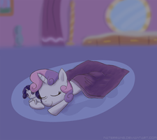 Sleepie Belle... by NaterRang
