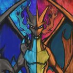Pokemon: Mega Charizard X and Y by dragonfire53511
