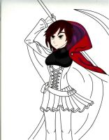 Rwby RED still in progress! by ALEXACEDEATH