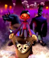 'trick or treat' by soheil