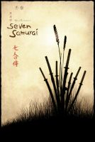Seven Samurai Movie Poster by TheMadmind