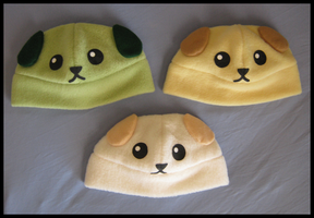 Mameshiba Hats by Kegawa