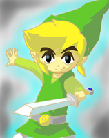 Link from Spirit Tracks by TimeTravelingSaiyan