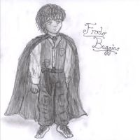 Frodo sketch by xcrystalclearx