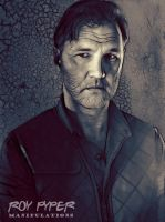 The Walking Dead: Governor: Fractalius (Ver.2) by nerdboy69