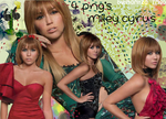 Pack 4 PNG Miley Cyrus by SandHansen