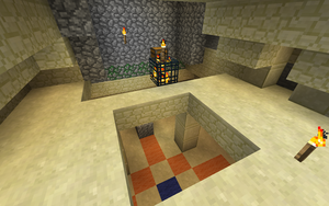 Minecraft Dungeon Intersection by Flexico